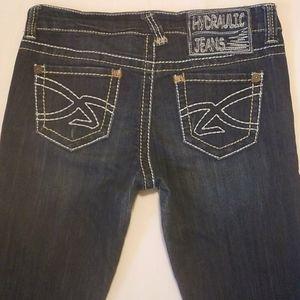 Hydraulic Jeans - Hydraulic Bailey Slim Boot Denim Blue Jeans